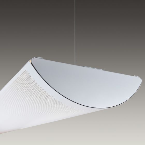 Alcon Lighting 12033 Cambridge Architectural LED Linear Pendant Mount Direct/Indirect Light Fixture