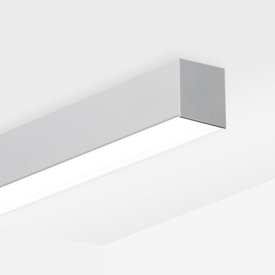 Alcon 12200-4-S RFT Medium Linear Ceiling Surface-Mounted LED Light