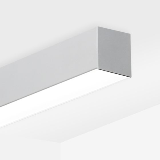Alcon 12200-6-S RFT Wide Linear Ceiling Surface-Mounted LED Light