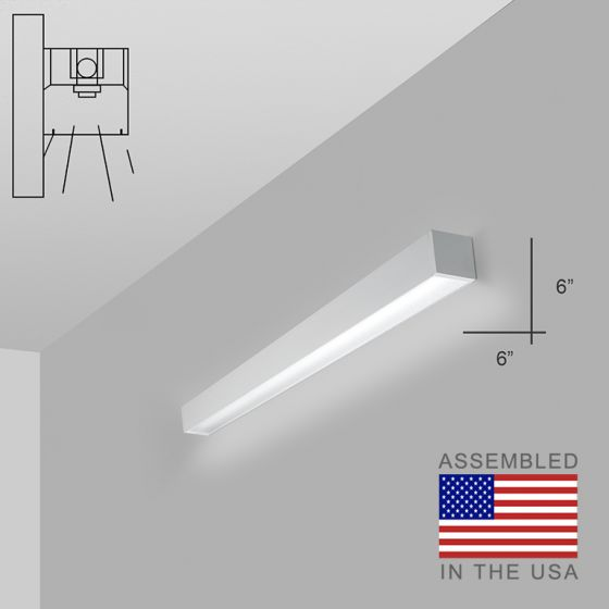 Alcon 12200-6-W RFT Series LED Linear Wall Mount Light