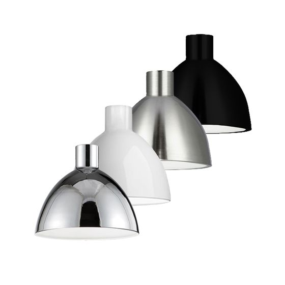 Alcon Lighting 12260 Doma Architectural LED Contemporary Dome Pendant Mount Direct Down Light Fixture