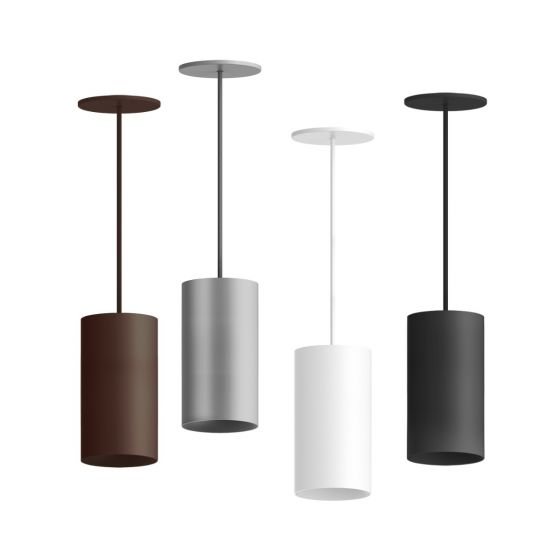 Alcon Lighting 12302-8 Cilindro Architectural LED Medium Modern Cylinder Direct Light Fixture