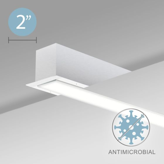 Alcon 12500-20-R Linear Recessed Antimicrobial LED Light