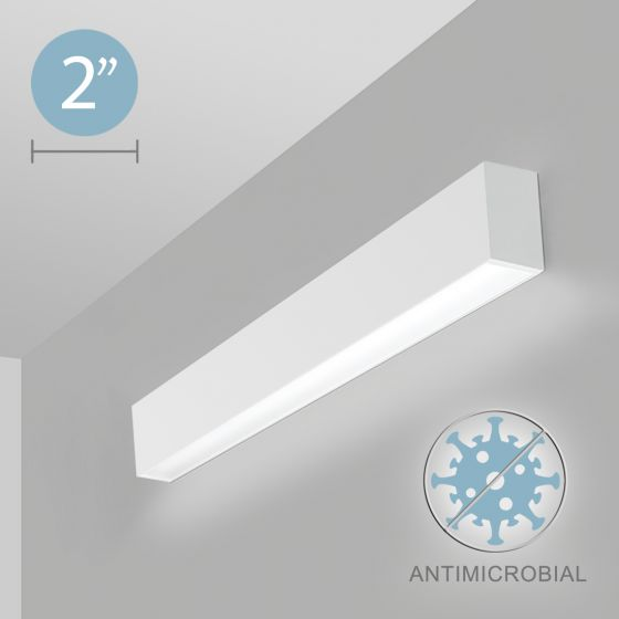 Alcon 12500-20-W LED Antimicrobial Linear Wall Light