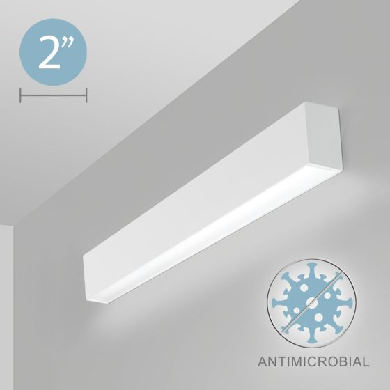 Alcon 12500-20-W Linear Wall-Mounted Antimicrobial LED Light