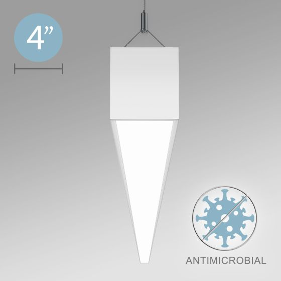 Alcon 12500-40-P Linear Antimicrobial LED Pendant Light
