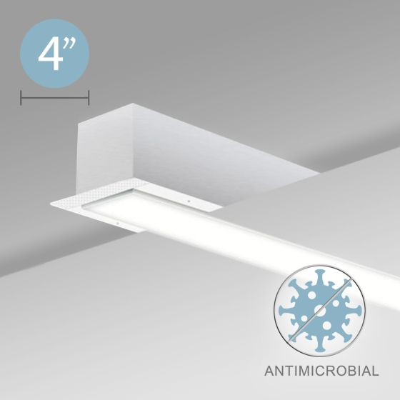Alcon 12500-40-R Linear Recessed Antimicrobial LED Light