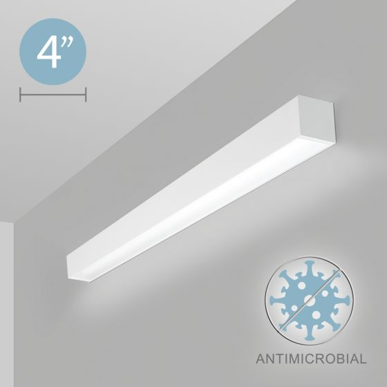 Alcon 12500-40-W LED Antimicrobial Linear Wall Light