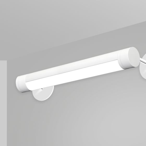 Alcon 12501-R2-W Adjustable Antimicrobial LED Wall Tube Light