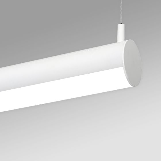 Alcon 12501-R4 Linear Antimicrobial LED Rotatable Pendant Tube Light