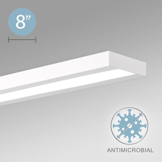 Alcon 12502-S LED Antimicrobial Commercial-Grade Surface Light Fixture