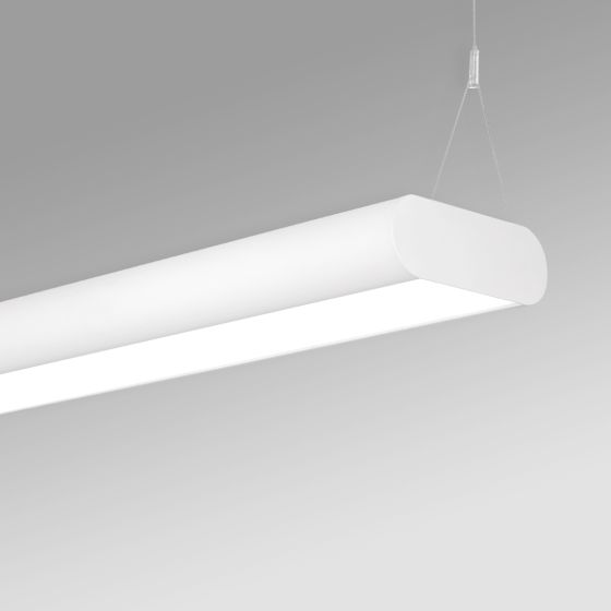 Alcon 12503-P Antimicrobial LED Linear Capsule Pendant Light