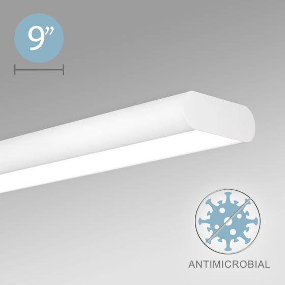 Alcon 12503-S Architectural LED Surface-Mounted Capsule with Antimicrobial Finish