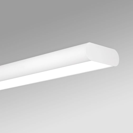 Alcon 12503-S Antimicrobial LED Surface-Mounted Linear Ceiling Light