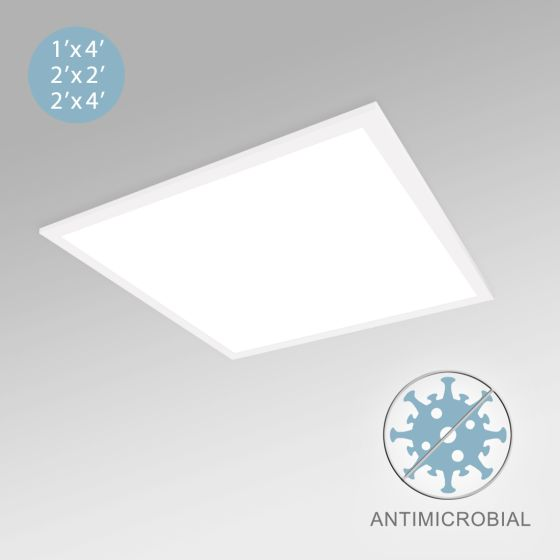 Alcon 12509 LED Antimicrobial Flat Panel with Color Temperature Switching