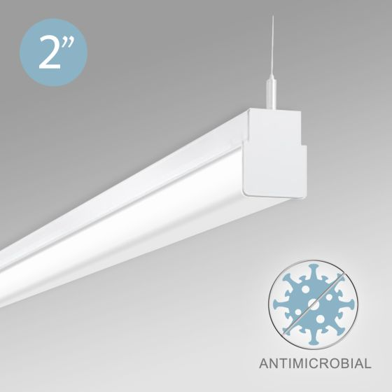 Alcon 12513-P LED Antimicrobial Pendant Light
