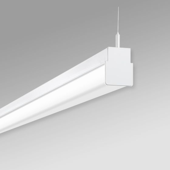 Alcon 12513-P Linear Antimicrobial LED Slim Linear Pendant Light