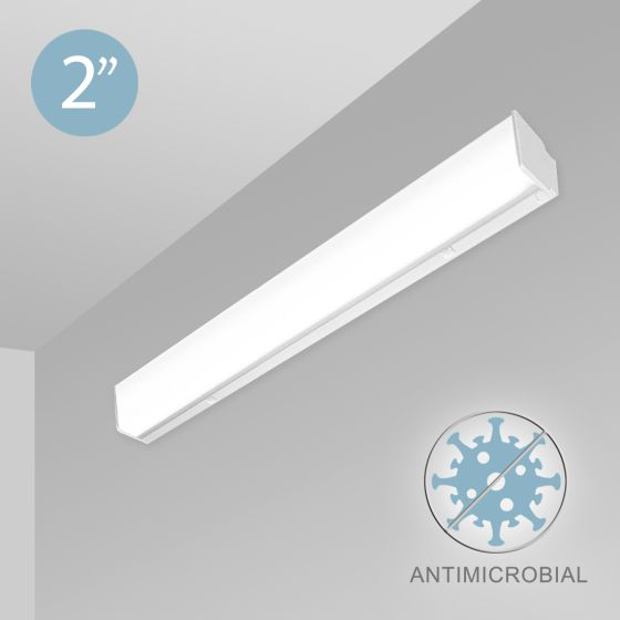 Alcon 12513-W Antimicrobial Linear Wall-Mounted LED Light