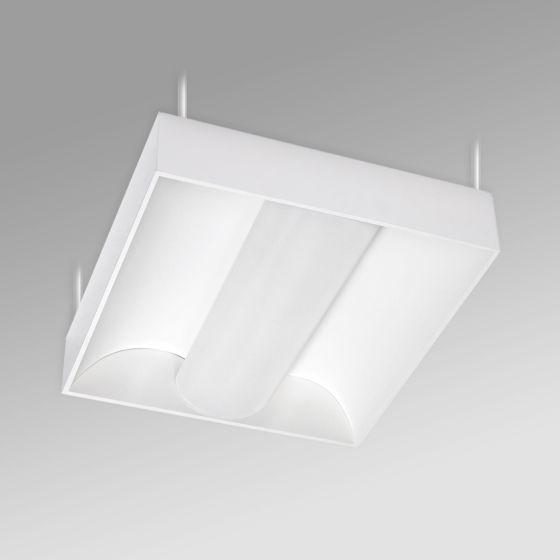 Alcon 12514-P Center Basket Antimicrobial LED Low Bay Pendant Light