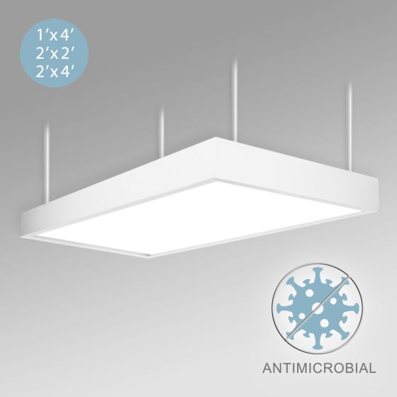 Alcon 12515-P LED Antimicrobial Pendant Mount Light