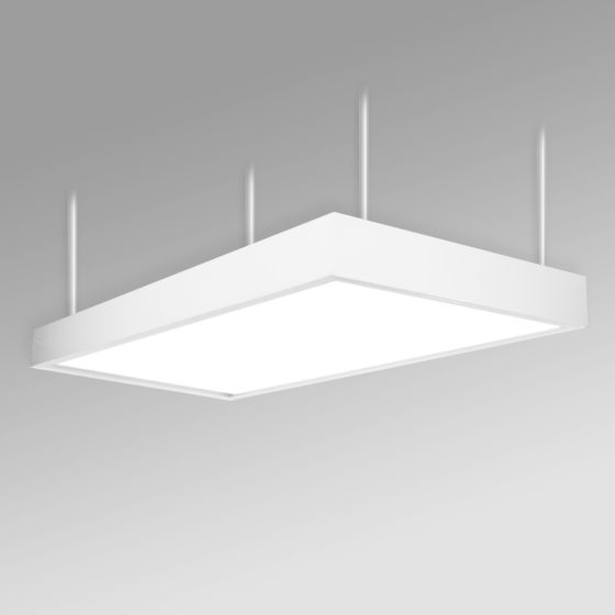 Alcon 12515-P Panel Antimicrobial LED Low Bay Pendant Light