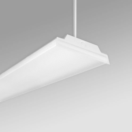 Alcon 12516-P Wraparound Antimicrobial LED Low Bay Pendant Light