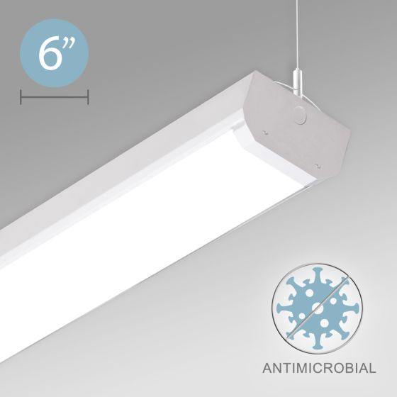 Alcon 12517-P Linear Antimicrobial LED Pendant Light