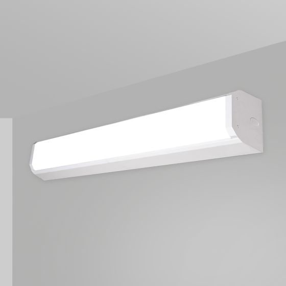 Alcon 12517-W Linear Antimicrobial LED Wall Light