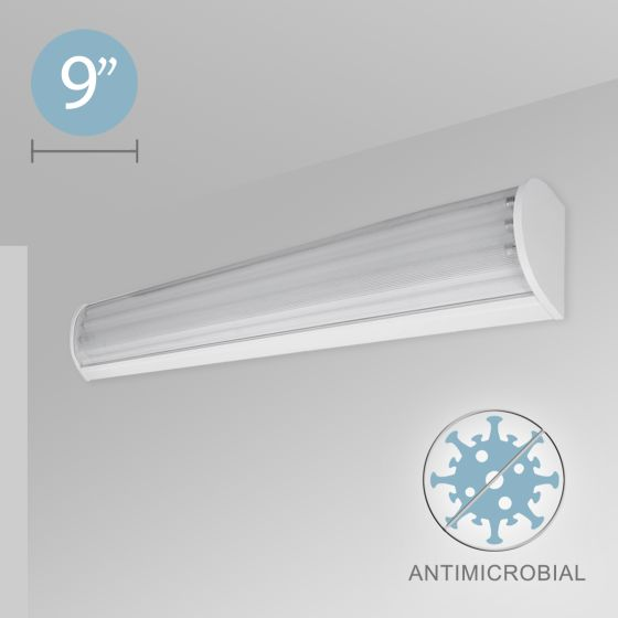 Alcon 12518-W Linear Wall Mount Antimicrobial LED Light