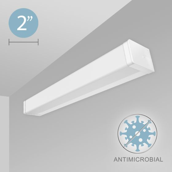 Alcon 12520-W Linear Antimicrobial Wall Mount LED Light