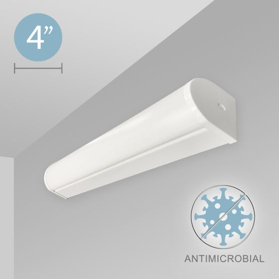Alcon 12521-W Linear Antimicrobial Wall Mount LED Light