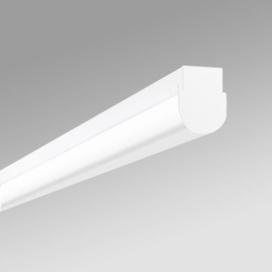 Alcon 12527-S Antimicrobial Rounded Linear Surface-Mounted Ceiling LED Light