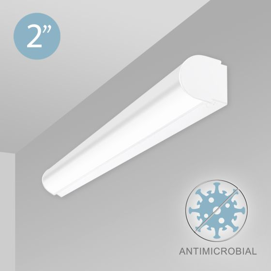 Alcon 12527-W LED Antimicrobial Wall Light