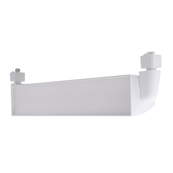 Alcon Lighting 13126 Architectural Fixed Connector 24 Inch LED Wall Wash Track Fixture with 90 Degree Vertical Adjustment