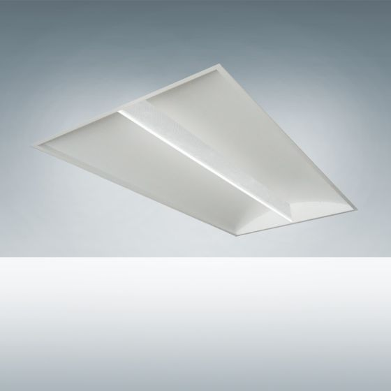 Alcon Lighting 14010 Architectural LED Recessed Direct Light Troffer (Wattage Selectable)