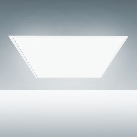 Alcon Lighting 14028 Edge Lit Architectural LED Flat Panel Recessed High Efficiency Direct Light Troffer (Wattage & Color Temperature Selectable)