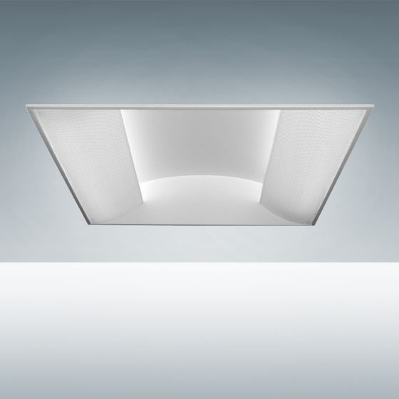 Alcon Lighting 14080 Prestige Architectural LED Recessed Side Basket Direct Light Troffer