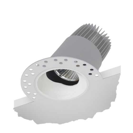 Alcon 14121-ADJ Illusione 2-inch Architectural LED Trimless Recessed Direct Downlight