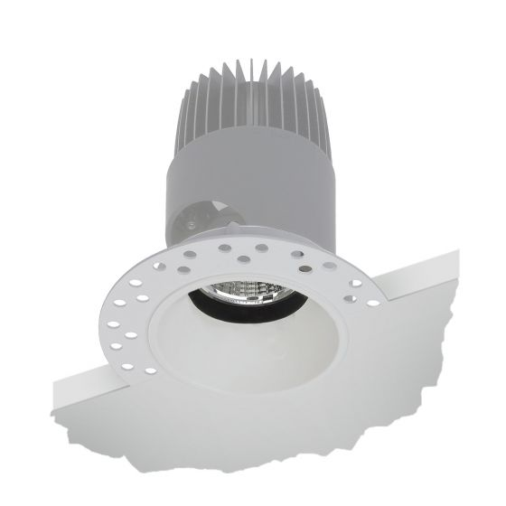 Alcon 14121-DIR 2-Inch Recessed Trimless Fixed-Round LED Downlight