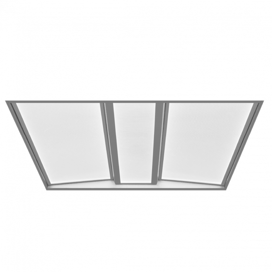 Alcon Lighting 14125 Architectural LED Recessed Volumetric Flat Panel Direct Light Troffer