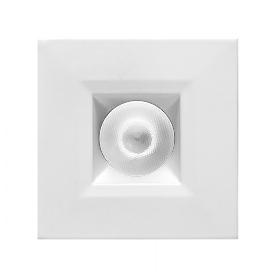 Alcon 14142-S-DIR Recessed 1-Inch Fixed-Square LED Downlight