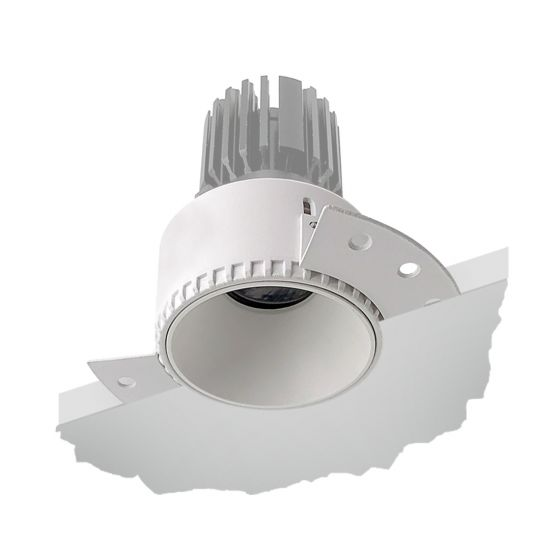 Alcon 14143 4-Inch Round Architectural LED Trimless Recessed Light Fixture