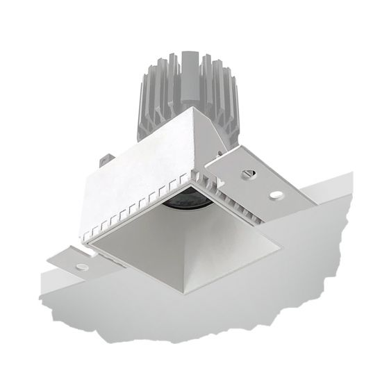 Alcon 14143-S Recessed Trimless Square 4-Inch LED Downlight