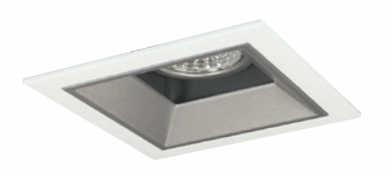 Alcon 14310-1 Oculare LED Architectural 1-Head Multiple Recessed Lighting System Fixture