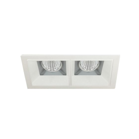Alcon 14310-2 Oculare LED Architectural 2-Head Multiple Recessed Lighting System Fixture