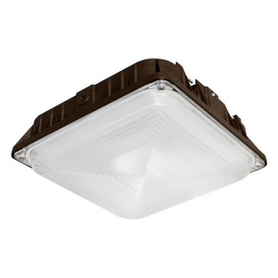 Alcon Lighting 16001 CPY LED Low Profile High Efficiency Canopy Light