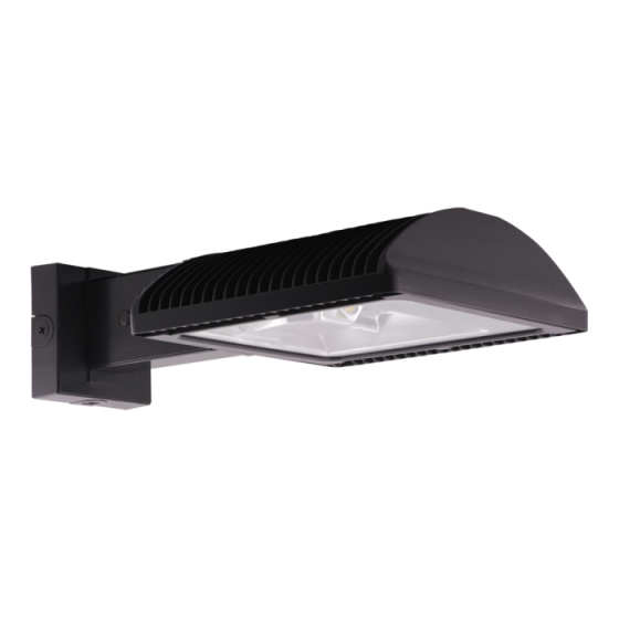 RAB WPLED2T150 150 Watt LED Outdoor Wall Pack Fixture Type 2 Distribution