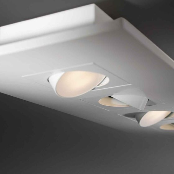Alcon Lighting 12050 Elegante Architectural LED Surface Mount Adjustable Downlight Multiple Fixture