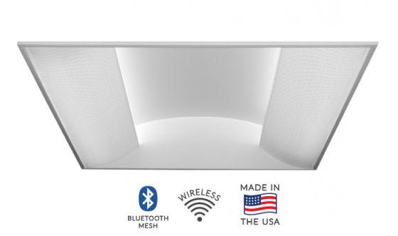 Alcon Lighting 7018 Side Basket Fluorescent Recessed Troffer Direct Light Fixture