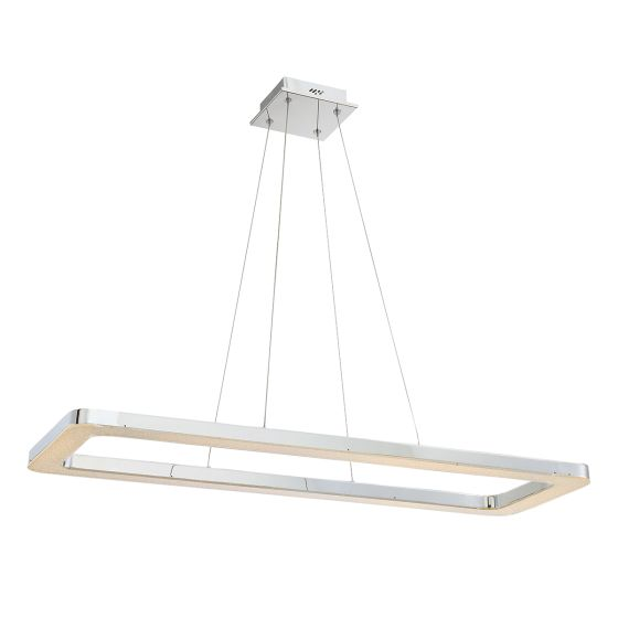 Alcon Lighting 12158 Quadrato Rectangular LED Architectural Suspended Pendant